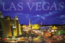 Las Vegas Strip Postcard 0685