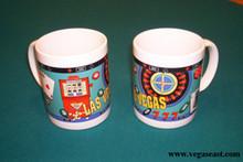 Las Vegas Slots/Roulette Coffee Mug