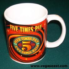 Five Times Pay Gaming Coffee Mug