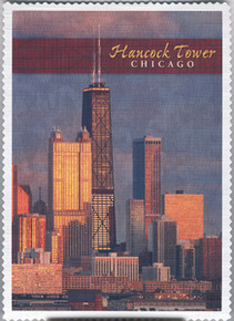 Hancock Tower Chicago Postcard