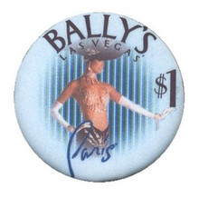 Bally's Las Vegas $1 Casino Chip