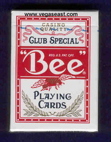 Bee Playing Cards Red Deck