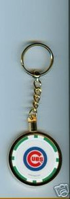 Chicago Cubs Chip Key Chain