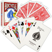 Bicycle Standard Rider Back Playing Cards Red Deck