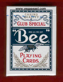 Bee Playing Cards Blue Deck
