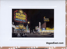 Fremont Street at Night Note Cards