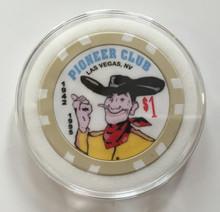 Casino Chip White Ring Air Tite Holder