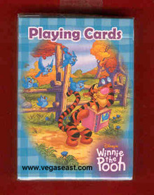 Disney's Winnie the Pooh and Tigger Playing Cards