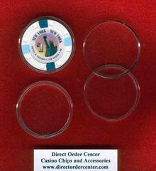 39mm Casino Chip Air Tite Holder