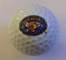 Diamond 5 Times Pay IGT Logo Golf Ball