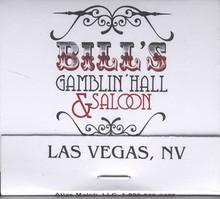 Bill's Gamblin Hall Saloon Las Vegas Matches