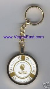 Caesars Palace Casino Chip Key Ring J0826WKC