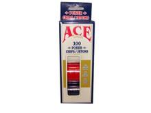 Ace Plastic Poker Chips