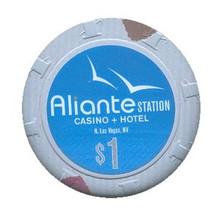 Aliante Station Las Vegas $1 Casino Chip