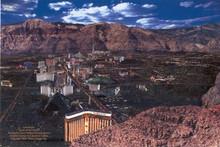 Las Vegas Mountain View Postcard