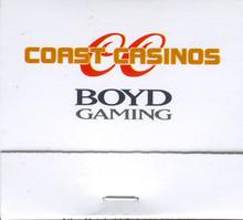 Coast Casinos Boyd Gaming Match Book