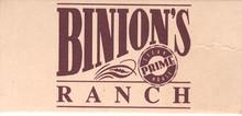 Binion's Horseshoe Ranch Match Box