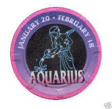 Aquarius Zodiac Gaming Chip