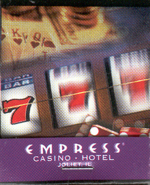 Empress Casino Joliet Illinois Match Book