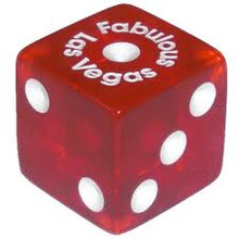 Fabulous Las Vegas Red Dice