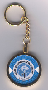 MGM Las Vegas Casino Chip Key Ring