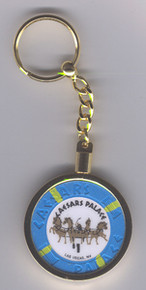 Caesars Palace Casino Chip Key Ring J0758KR
