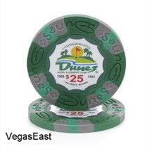 Dunes Hotel Las Vegas $25 Commemorative Casino Chip