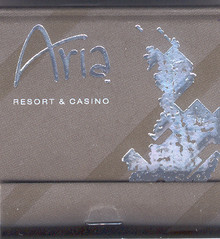 Aria Las Vegas Match Book