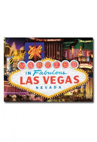 Just Got Married In Las Vegas Postcard