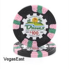 Dunes Hotel Las Vegas $100 Commemorative Casino Chip