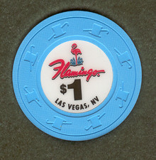 Flamingo Las Vegas $1 Casino Chip J0891CC