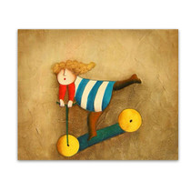 Glee | Gold Hand Painted Canvas Wall Art & Kiddie Artworks for Sale