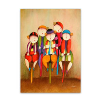 Bike Race | Cute Kiddie Wall Art & Paintings for Sale Online