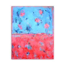 Brooke Howie │ Red Blue Abstract