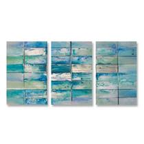 Blue Crossing2 - 3panels