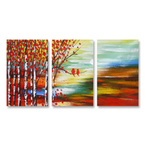 Knife Painting SAH005 - 3panels