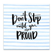 Be Proud Canvas Art Print