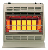 SR-30T VENT-FREE INFRARED HEATER 30,000BTU THERMOSTATIC CONTROL