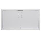 BLZ-AD40-R Blaze 40 Inch Double Access Door With Paper Towel Dispenser