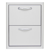 BLZ-DRW2-R Blaze 16 Inch Double Access Drawer