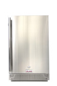 BLZ-SSRF-40DH Blaze 4.1 Cu. Ft. Outdoor Rated Stainless Steel Compact Refrigerator - UL Approved