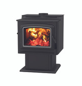 GRANDVIEW LARGE FREESTANDING WOOD STOVE GV300