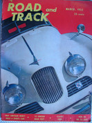 1953 Lincoln/36 Cord issue Mar.1953 Road/Track