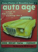 1956 Ferrari Monza, 4.4 , 4.9 tested,Comparison Dodge Pontiac Stude Merc