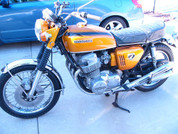 1970 Honda 750 with 8,700 miles from new