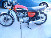 1973 Honda 550 with 2000 mile as new