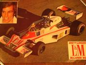 Brett Lunger Gran Prix McLaren M23 autograph