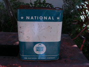 National classic old oil can large