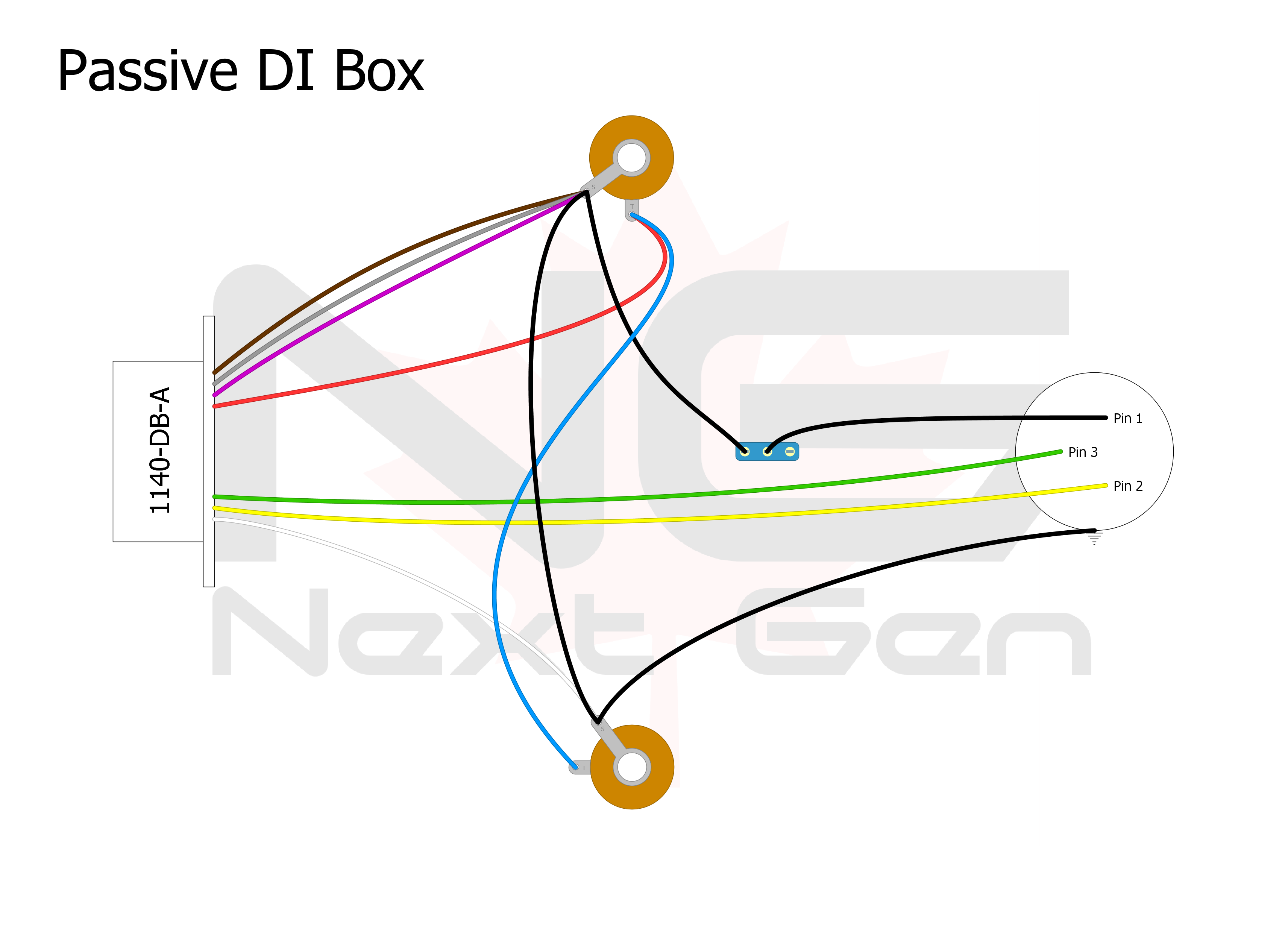 Passive DI Box Layout