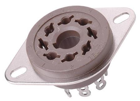 Belton - 8 Pin Octal Tube Socket (solder)
